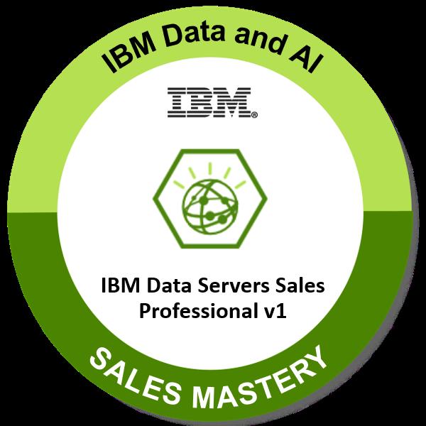 IBM Data Servers Sales Professional v1
