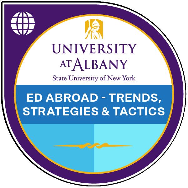Education Abroad- Trends, Strategies & Tactics