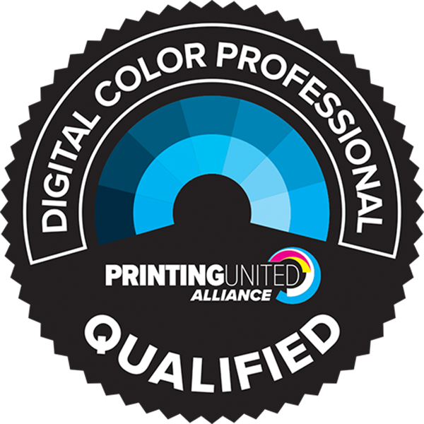 PRINTING United AllianceQualified Digital Color Professional