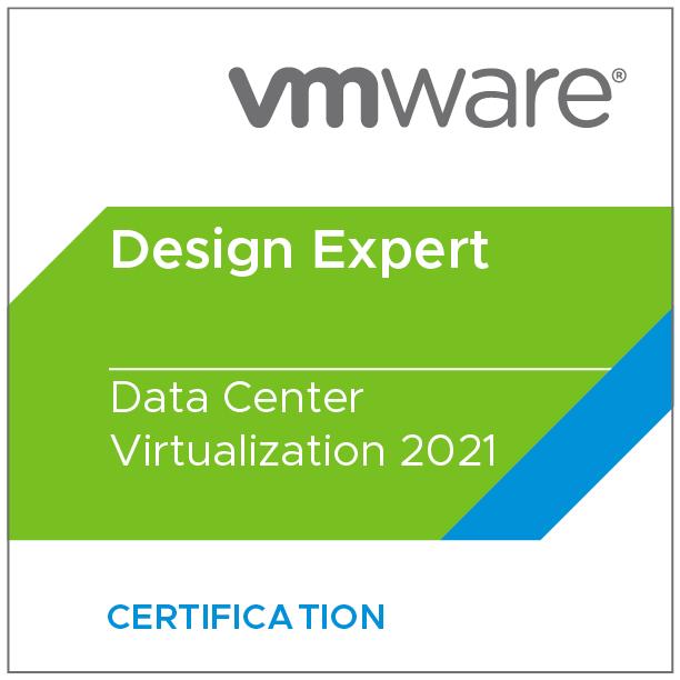 VMware Certified Design Expert - Data Center Virtualization 2021