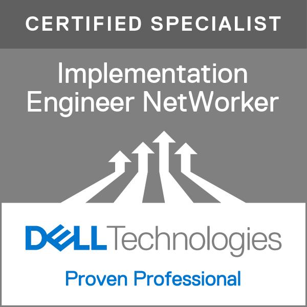 Specialist - Implementation Engineer, NetWorker Version 7.0