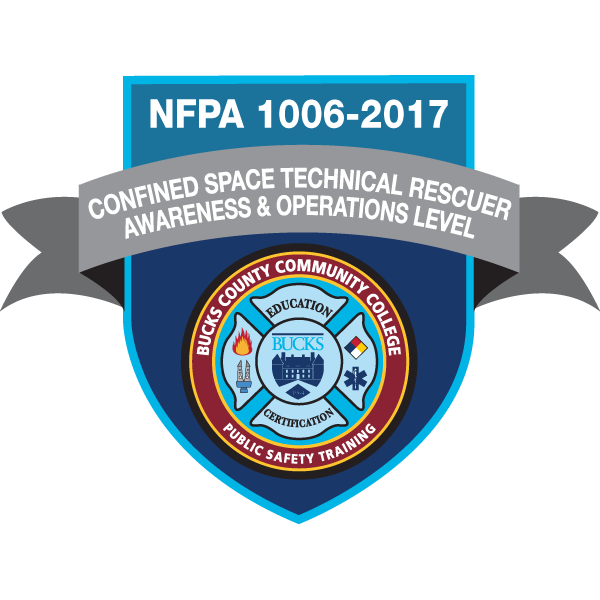 Confined Space Technical Rescuer Awareness and Operations Level (1006-2017)
