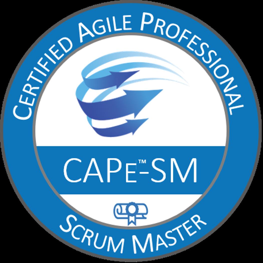 Certified Agile Professional – Scrum Master (CAPe™-SM)