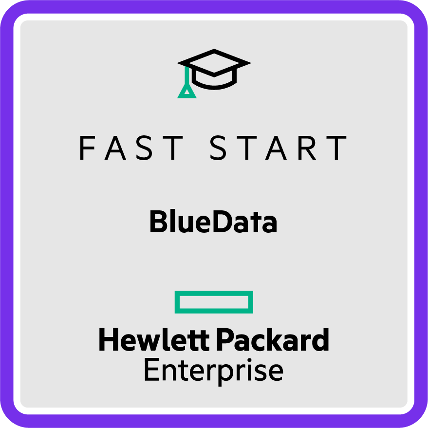 Fast Start - HPE BlueData