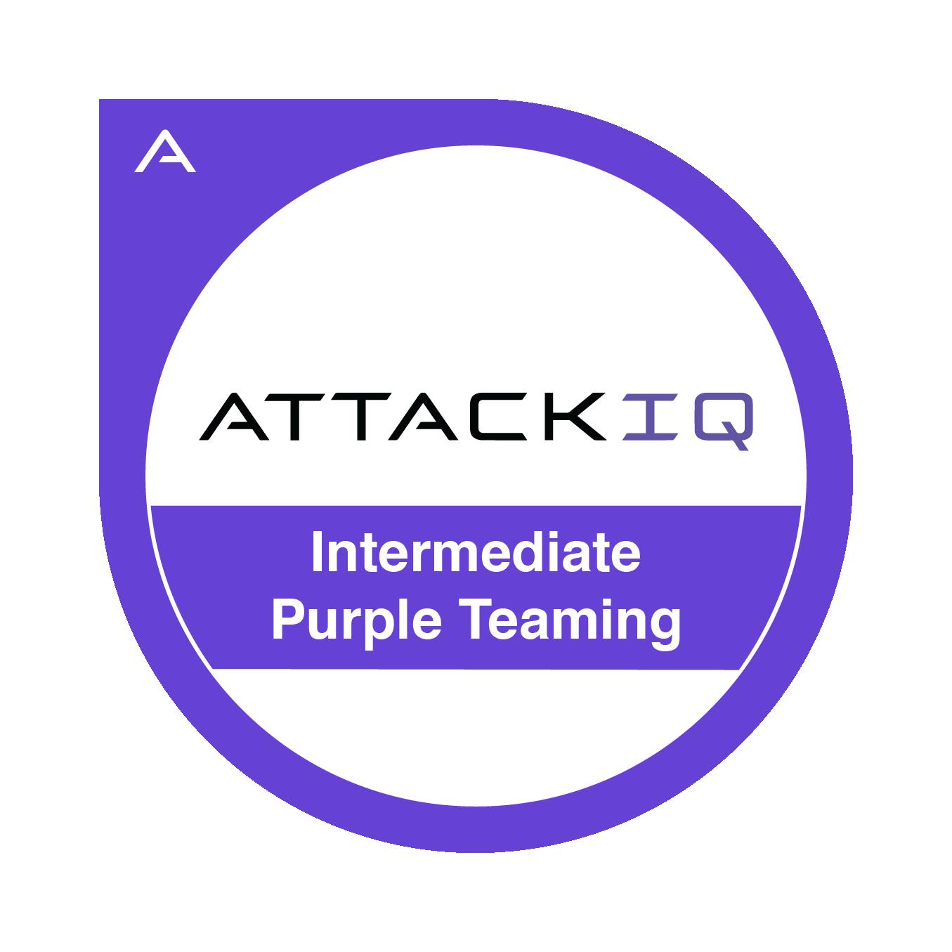 Intermediate Purple Teaming