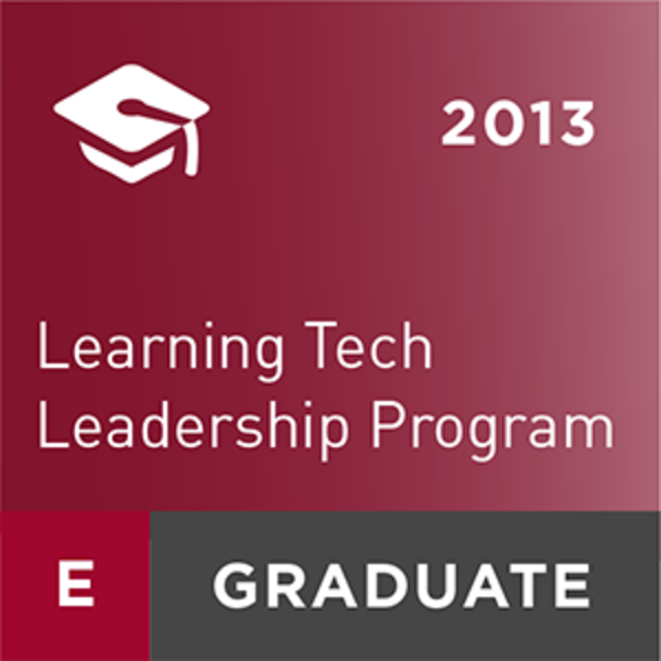 Learning Technology Leadership Program 2013