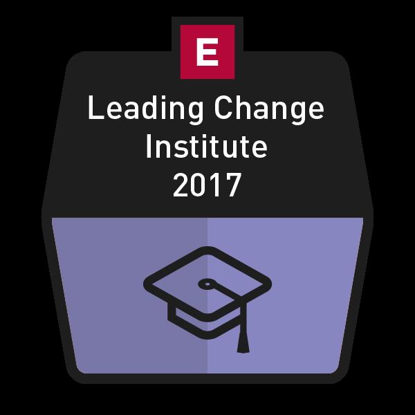 Leading Change Institute 2017 Image