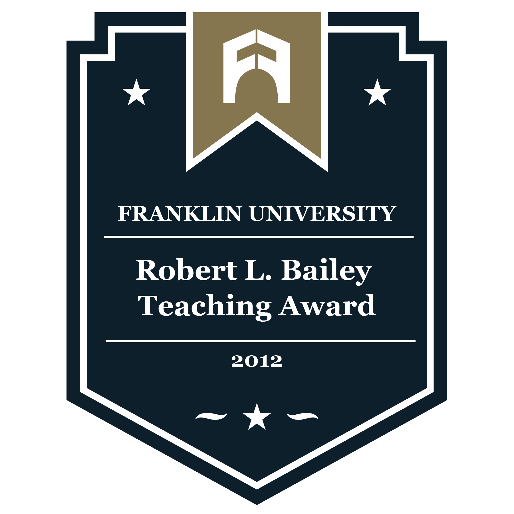2012 Robert L. Bailey Teaching Award