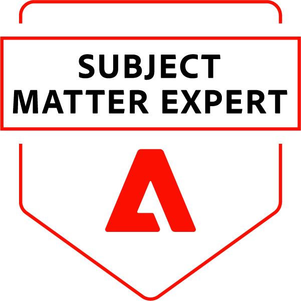 Adobe Subject Matter Expert - Adobe Campaign Developer