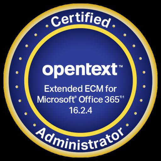 OpenText Certified Administrator