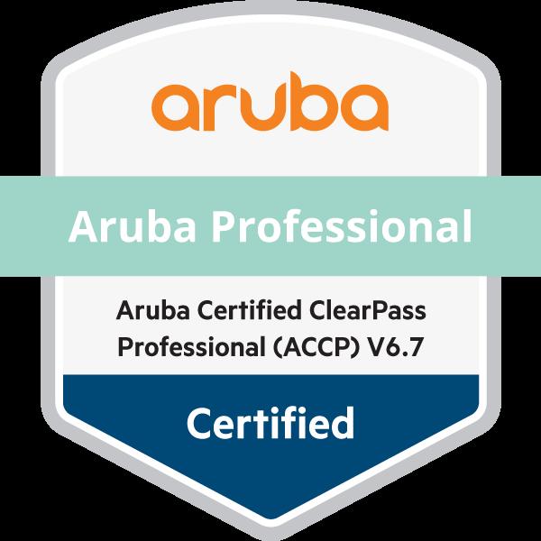Aruba Certified ClearPass Professional (ACCP) V6.7