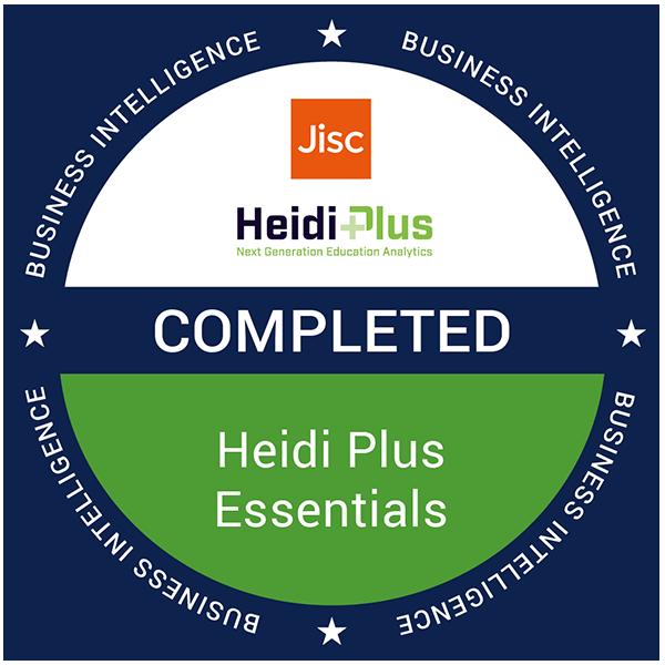 Heidi Plus Essentials