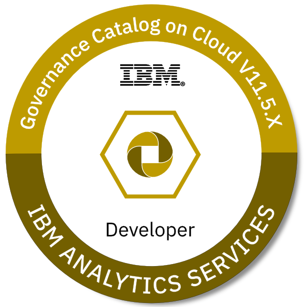 IBM Information Governance Catalog on Cloud V11.5.x Developer
