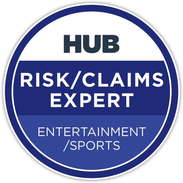 HUB Specialty Risk/Claims Expert - Entertainment/Sports