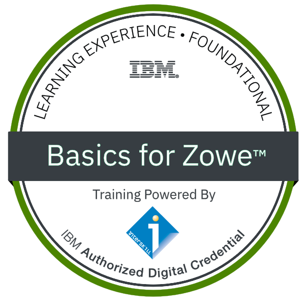 Interskill - Basics for Zowe™