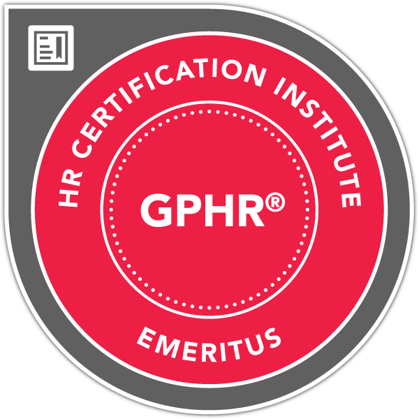 Global Professional in Human Resources® (GPHR®) Emeritus