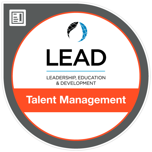 ICA LEAD Talent Management Credential