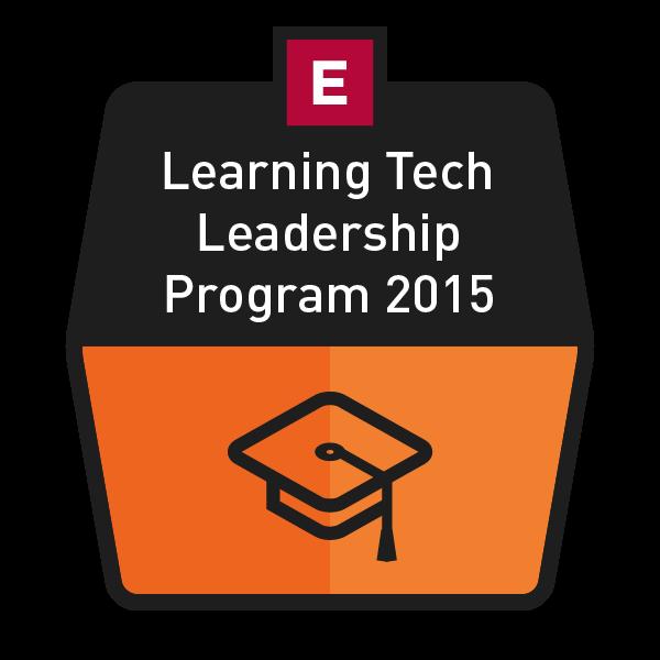 Learning Technology Leadership Program 2015