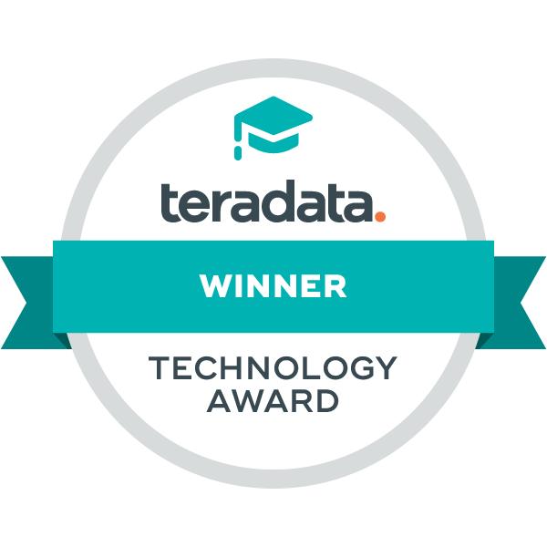 Teradata Technology Award Winner