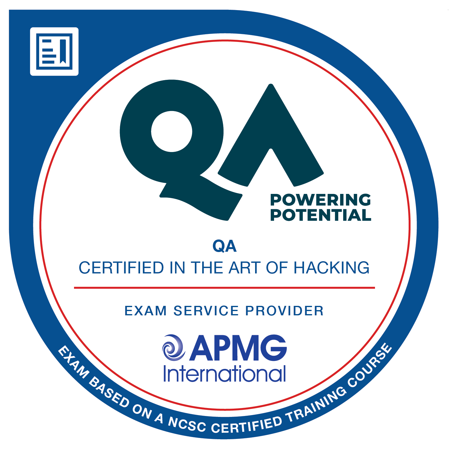 QA Certified in the Art of Hacking