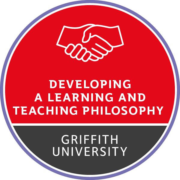 Teaching for Learning – Developing a Learning and Teaching Philosophy