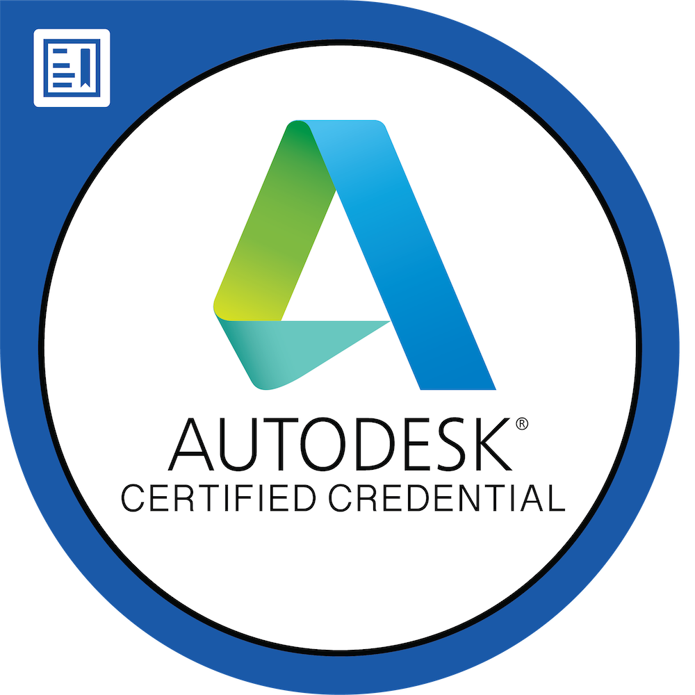 Autodesk Certified Credential in Generative Design for Manufacturing