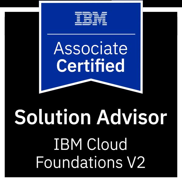 IBM Certified Solution Advisor - IBM Cloud Foundations V2