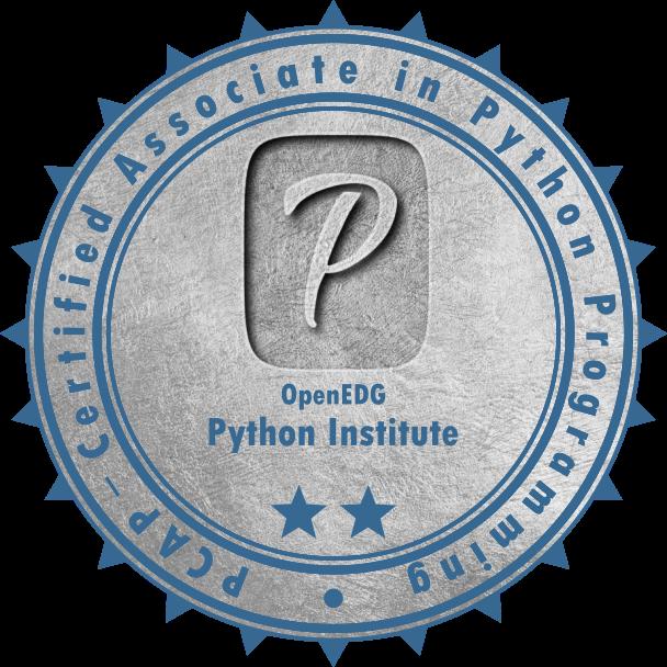 [PCAP-31-02] PCAP – Certified Associate in Python Programming