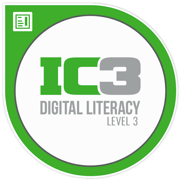 IC3 Digital Literacy Certification GS6 Level 3