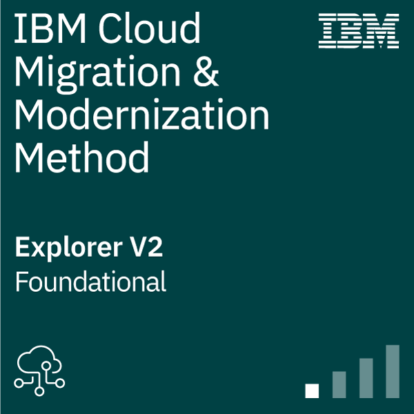 IBM Cloud Migration and Modernization Method Explorer 2