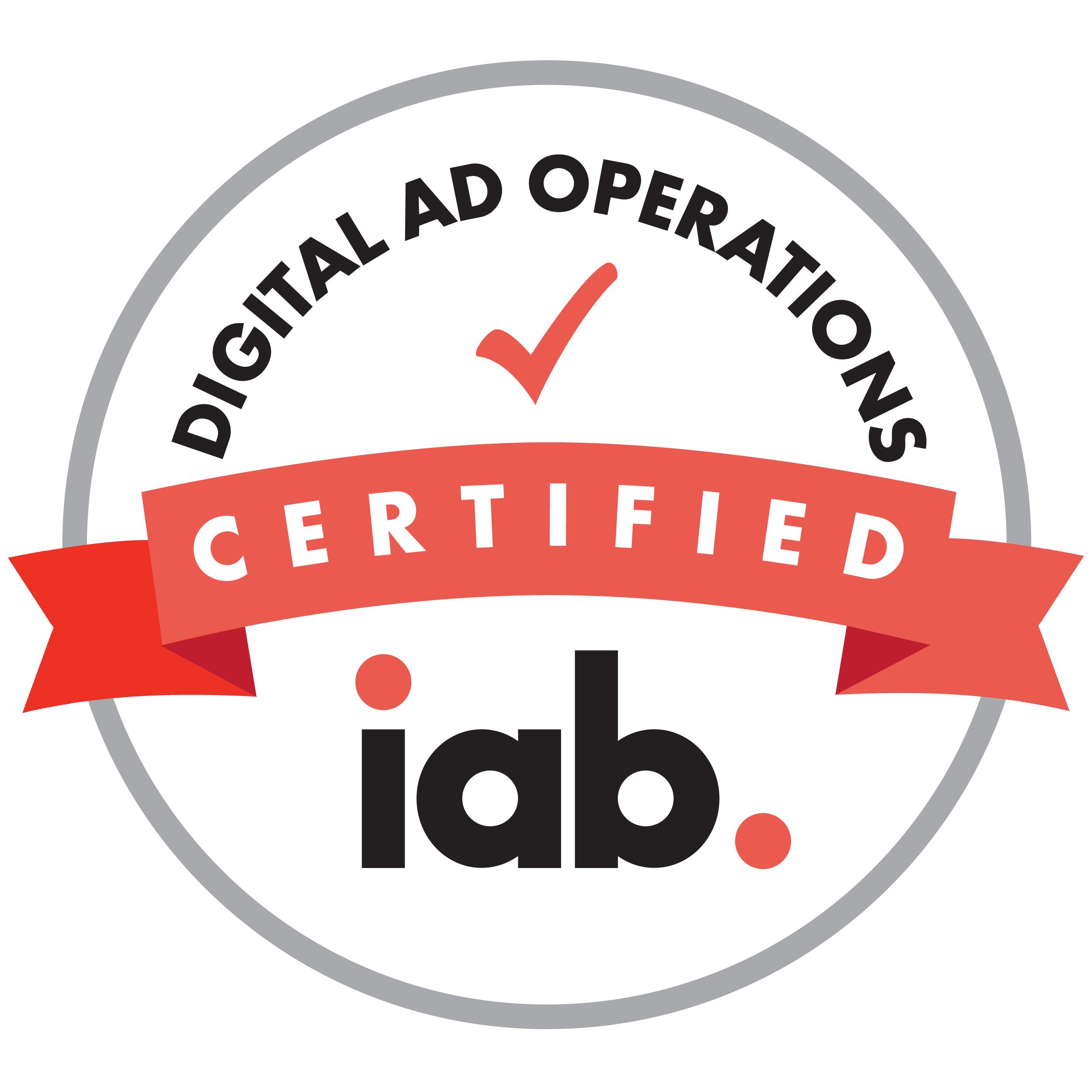 IAB Digital Ad Operations Certification