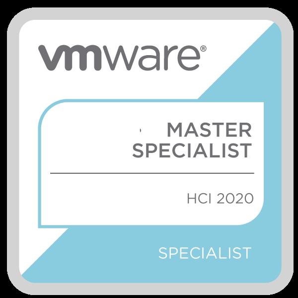 VMware Certified Master Specialist - HCI 2020