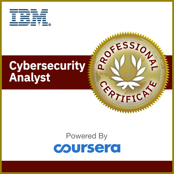 IBM Cybersecurity Analyst Professional Certificate