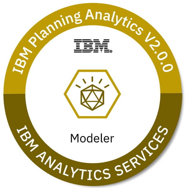 IBM Planning Analytics V2.0.0 Modeler