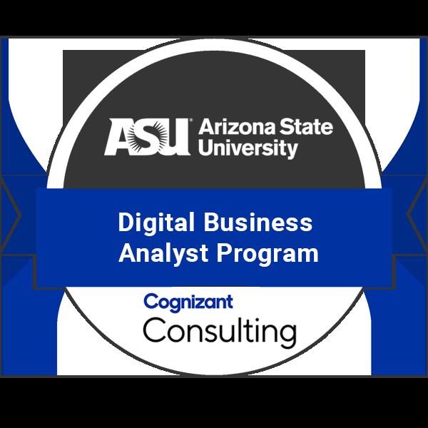 Cognizant Digital Business Analyst Certificate Program Acclaim