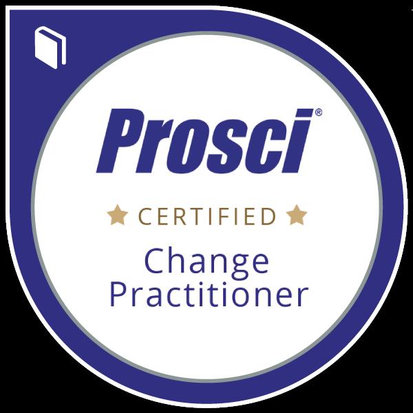 Prosci® Certified Change Practitioner