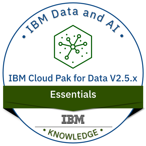 IBM Cloud Pak for Data V2.5.x Essentials