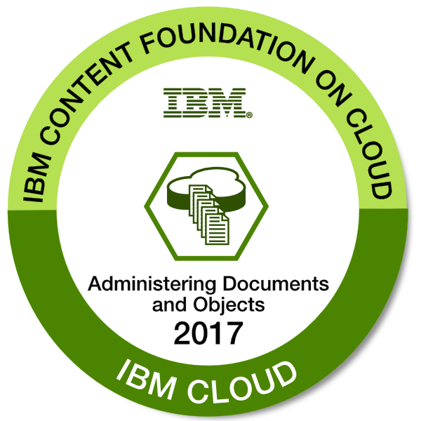 IBM Content Foundation on Cloud - Administering Documents and Objects - 2017