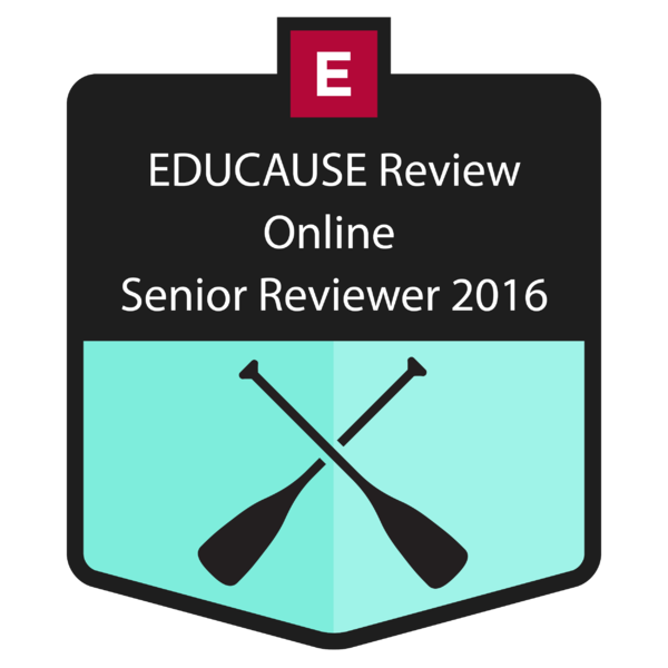 EDUCAUSE Review: Senior Reviewer 2016