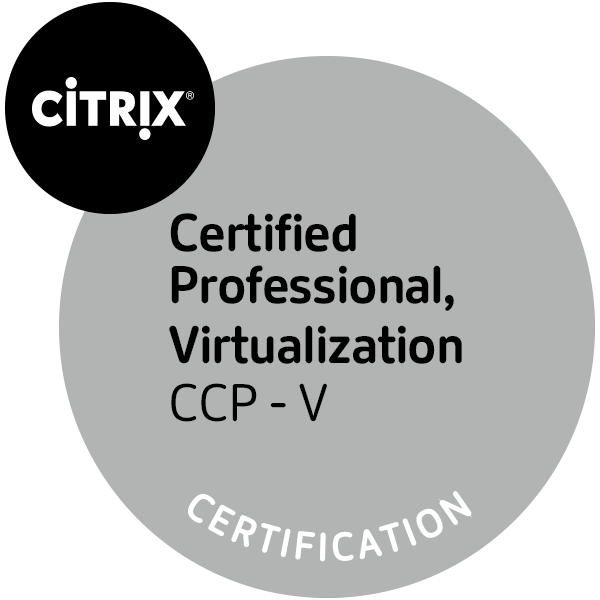 Citrix Certified Professional - Virtualization (CCP - V)