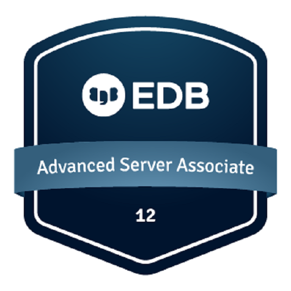 EDB Certified Associate - Postgres Advanced Server 12