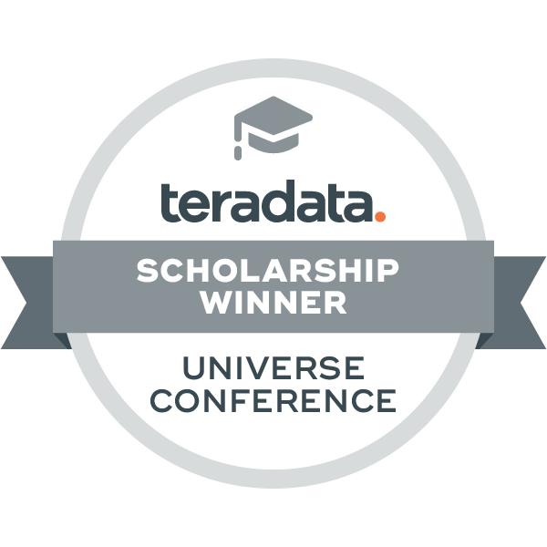 Teradata Universe TUN Scholarship Winner