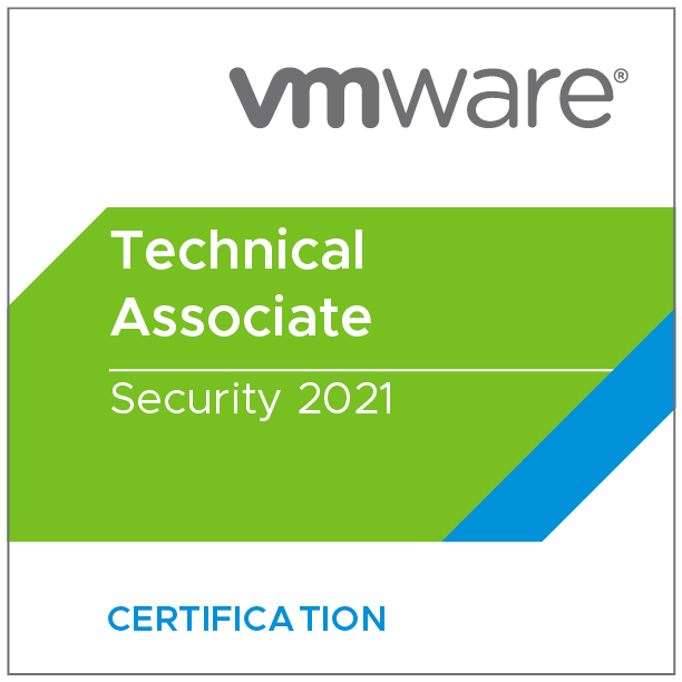 VMware Certified Technical Associate - Security 2021