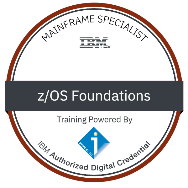 Interskill - Mainframe Specialist – z/OS Foundations