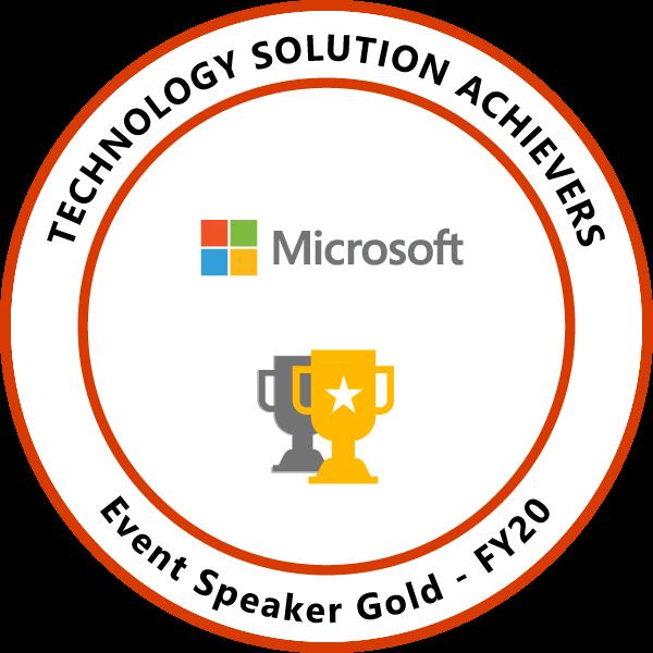 Event Speaker Gold