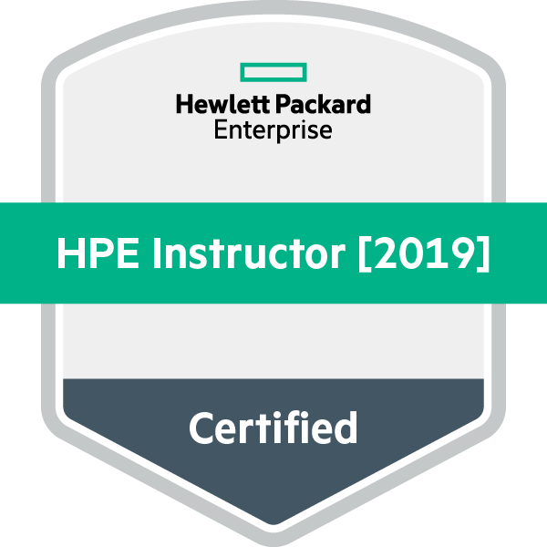 HPE Certified Instructor [2019]