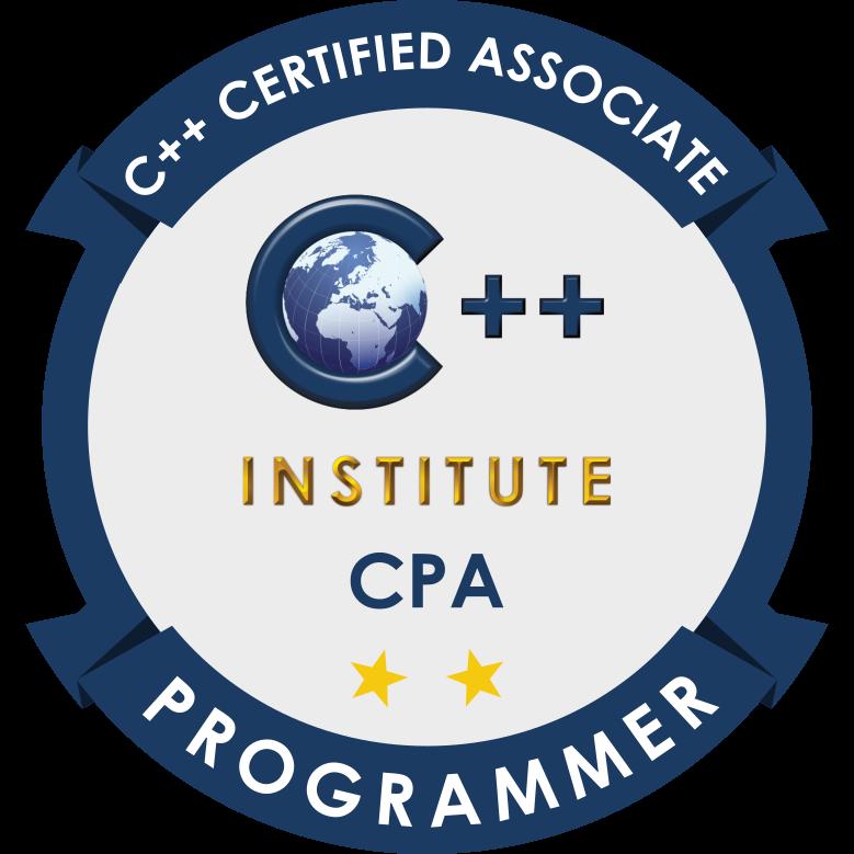 [CPA-21-02] CPA – C++ Certified Associate Programmer