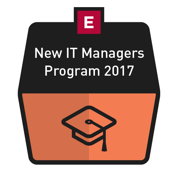 New IT Managers Program 2017