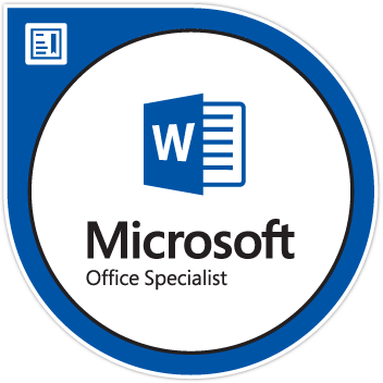 Microsoft Office Specialist: Word Associate (Word and Word 2019)