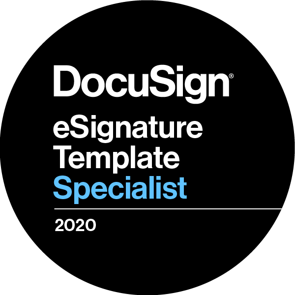 DocuSign eSignature Template Specialist 2020